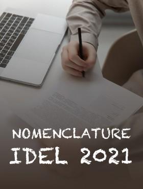 Nomenclature IDEL 2021