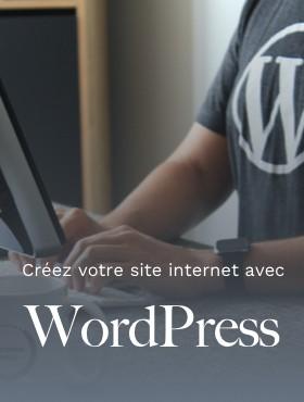Créez votre site internet avec l'outil WORDPRESS